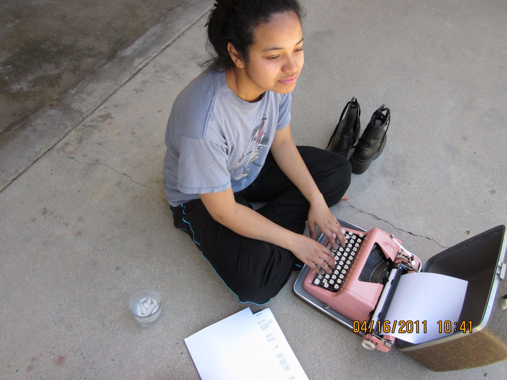 Typewriter Poetry: 2011.