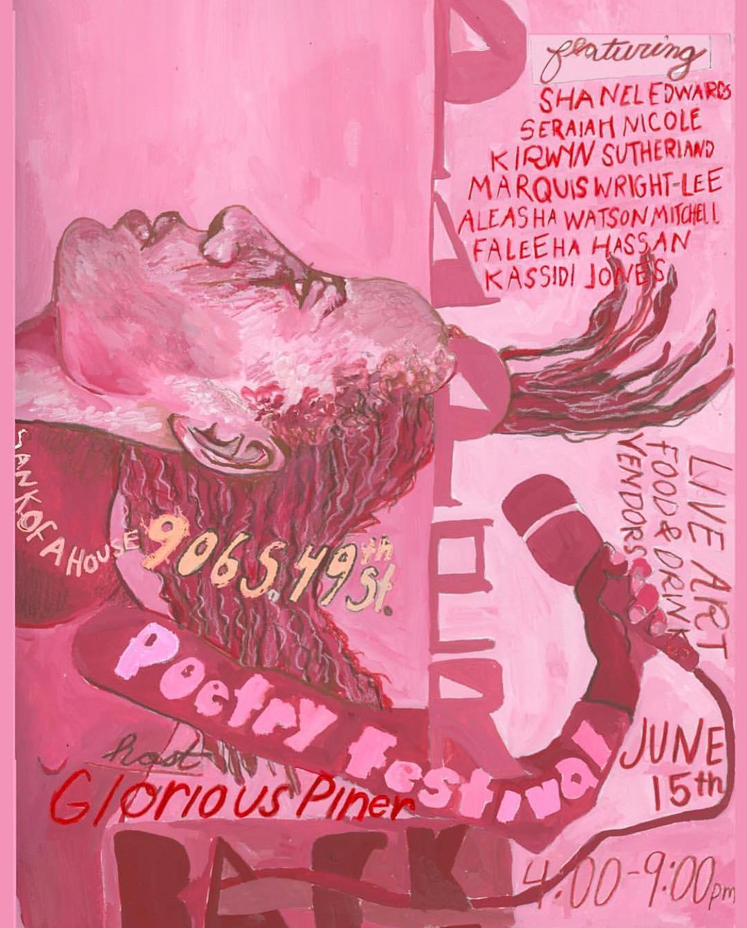 Paperback Poetry Festival: June 15th